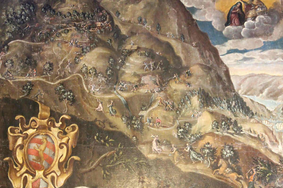 The beaten paths of the bandit Zanzanù