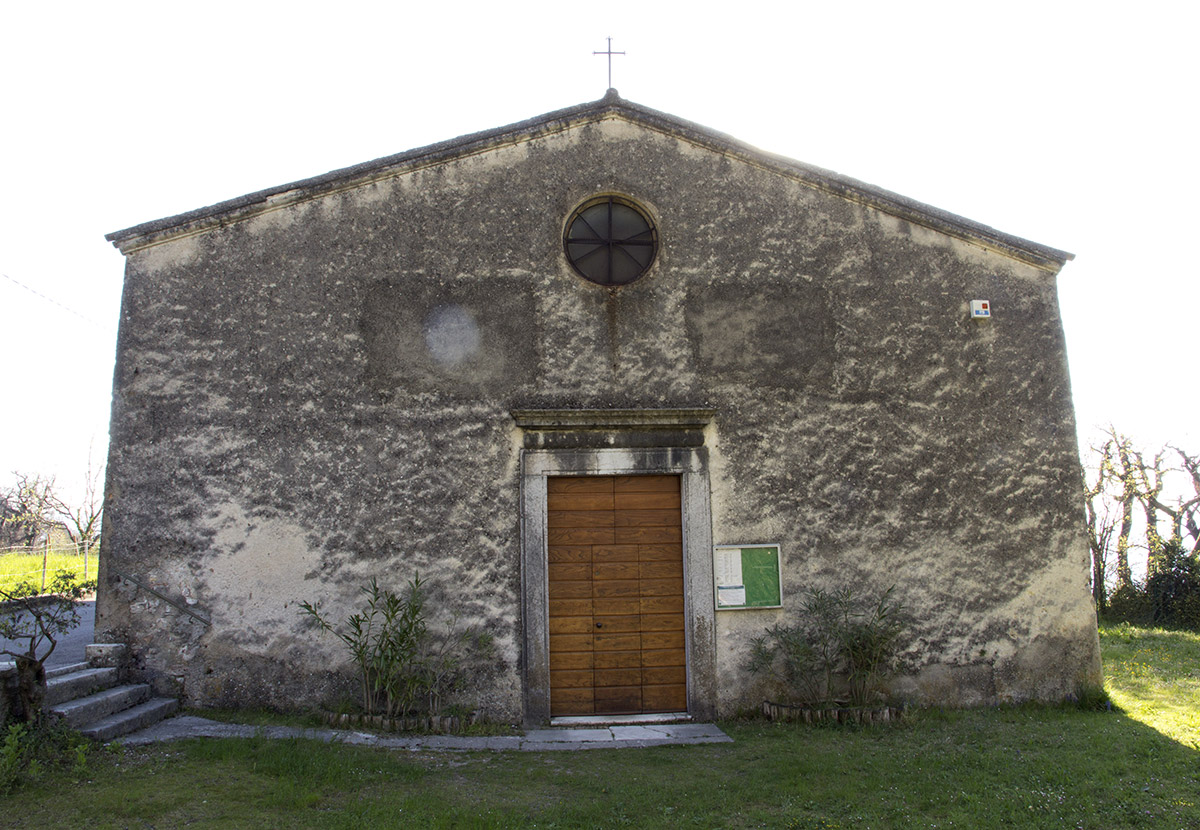 The Church of Saint Rocco in Liano