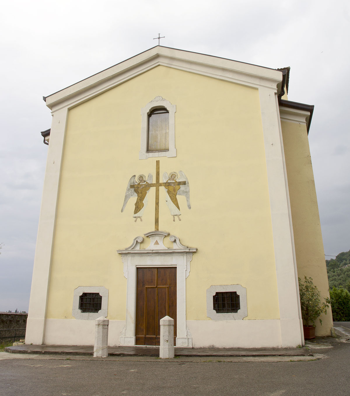 The Sanctuary of the Holy Cross in Bogliaco
